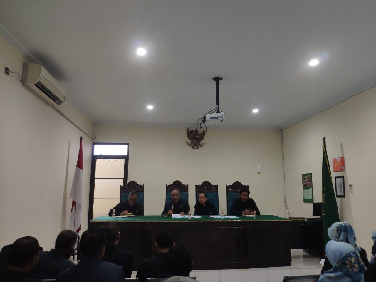 Pengawasan Reguler PTA Surabaya di Pengadilan Agama Malang Tahun 2019