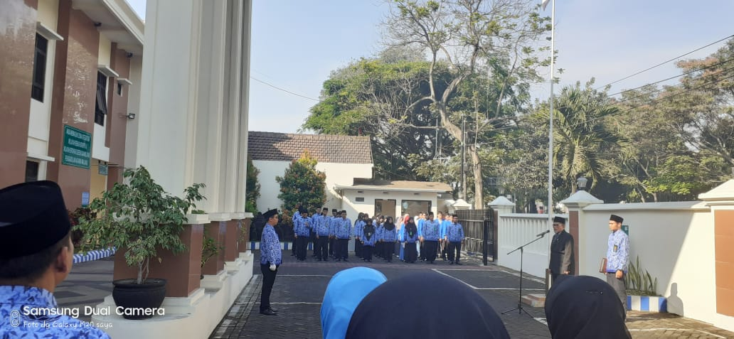 Pelaksanaan Upacara Peringatan Hari Kesaktian Pancasila