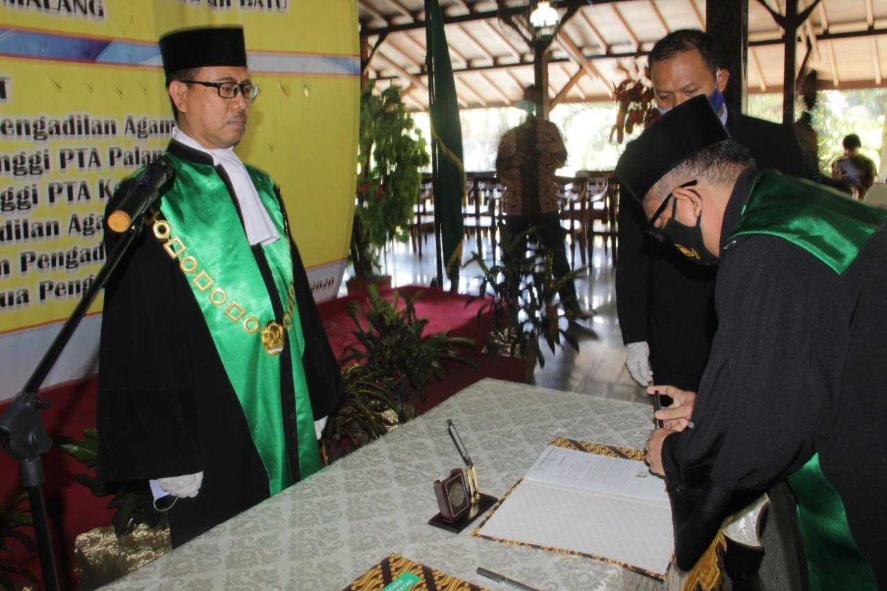 Pisah Sambut Ketua, Wakil Ketua dan Hakim