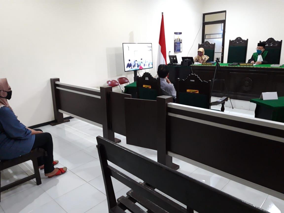 Sidang Telekonferensi Pengadilan Agama Malang